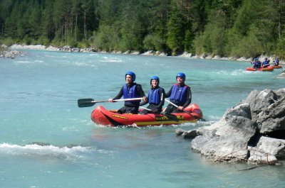 Ganztages-Canadiertour mit Mittagsgrill am Lech