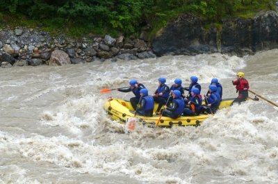 2-Tage Wild & Action-Tour (Rafting Inn & Canyoning)